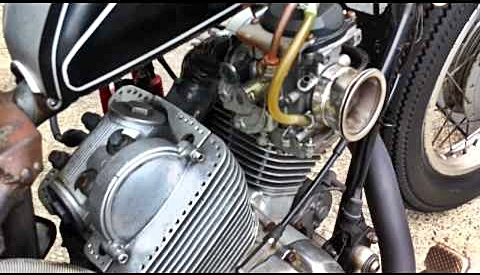 From Japan I Think Xv Engine Modified Carb Velo Stack Removed Head Covers Drilled Cyl Fins on Yamaha V Star 1100 Engine Diagram