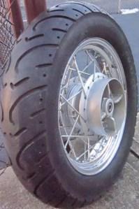 130/90-15 Kenda on Virago 250 wheel
