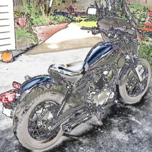 2002 Yamaha Virago 250 - Les S.