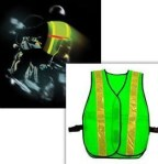 reflective vest - it's magic