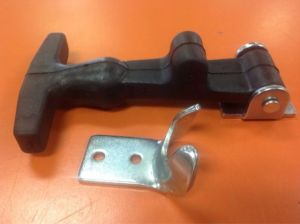 Rubber Hood Latch Bungee Latch Battery Latch w Bracket & Pin