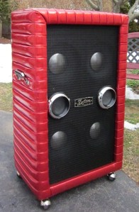 1967 Kustom narrow panel 4x10 L side