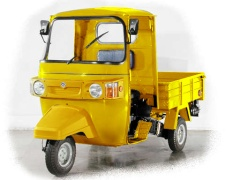Bajaj utility_yellow_truck 175cc - from India