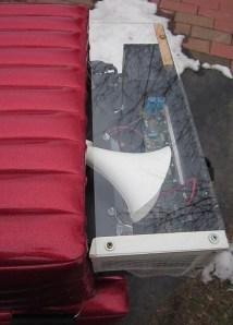 Motion Sound Leslie in Kustom cabinet w plexiglass rear cover