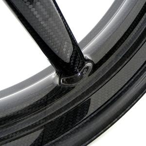BST carbon fiber wheel closeup--