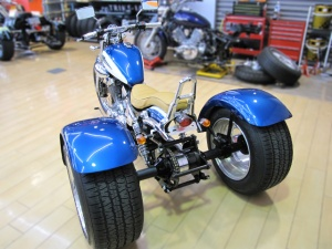 by Garage ELf in Japan-Trike kit for Virago 250
